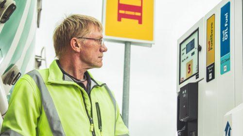 Shell genopstår i Køge med nyt lastbilanlæg